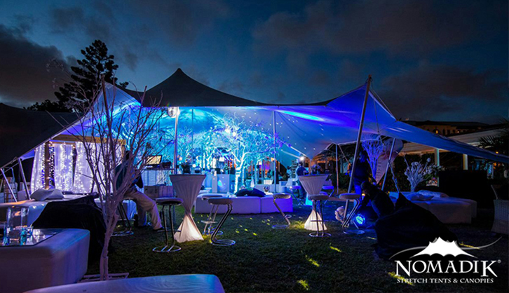 Outdoor party event hire